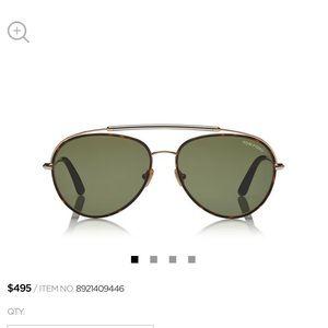 Tom Ford Curtis Sunglasses Aviators